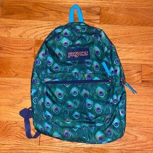 Jansport Peacock Feather Backpack